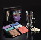 Glass, Marshmallow & Drinking Fudge Hot Chocolate Gift Set By Fudge Kitchen